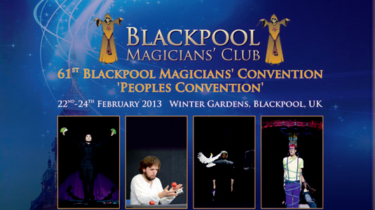 Bruno Copin at the 61st Blackpool Magicians Convention